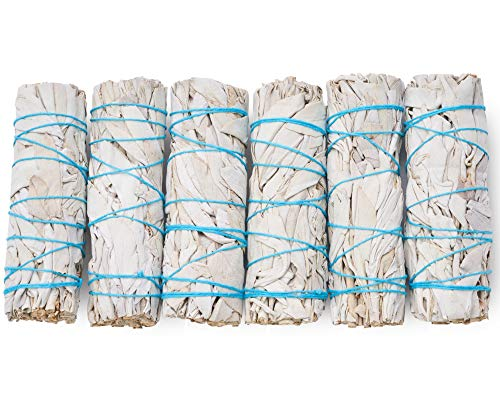 "White Sage Smudge Sticks 4"" Inch Smudging Wands 