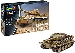 Revell Gmbh 03262 Pzkpfw VI Ausf H Tiger Tank Model Kit, 1: 72 Scale