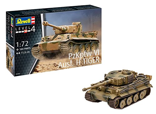 Revell - H Tank PzKpfw Vi Ausf H Tiger...