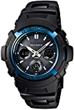 カシオ 腕時計 ジーショック 電波ソーラー AWG-M100BC-2AJF ブラック