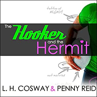 The Hooker and the Hermit audiobook cover art