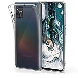 kwmobile Cover Compatibile con Samsung Galaxy A51 - Custodia in Silicone TPU - Back Case Protezione Posteriore - Trasparente