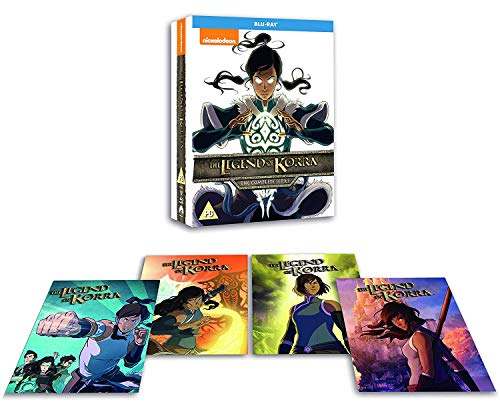 Legend of Korra Complete ( includes Amazon Exclusive includes Art Cards) [Blu-ray] [UK-Import] [Region Free]