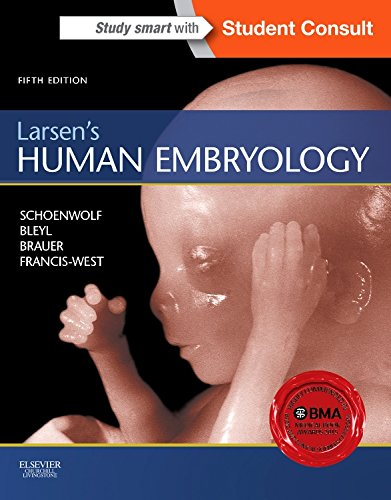 Compare Textbook Prices for Larsen's Human Embryology Schoenwolf,Larsen's Human Embryology 5 Edition ISBN 9781455706846 by Schoenwolf PhD, Gary C.,Bleyl MD  PhD, Steven B.,Brauer PhD, Philip R.,Francis-West PhD, Philippa H.