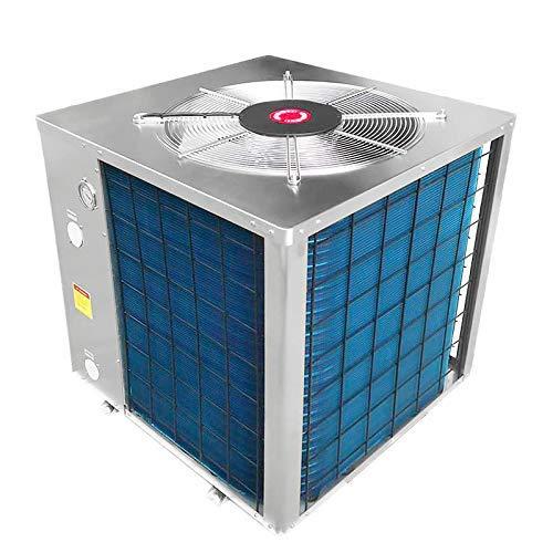 well2wellness Pool vertikal Wärmepumpe Mida.Maxx 14 Full-Inverter - Poolheizung mit Einer Heizkapazität bis 13,48 kW Plus Abdeckplane