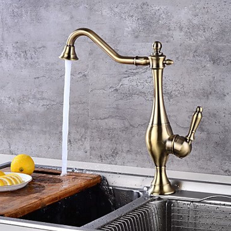 SUNNY KEY-Kitchen Sink Taps@CentersetBronze, Kitchen Faucet