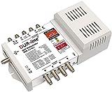 DUR-line DCR 5-1-8-L4 SCR-Schalter - Einkabellösung für 8 SCR-Teilnehmer + 4 Legacy Ausgänge [ Test SEHR GUT *] -