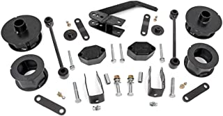 """Rough Country 2.5"""" Suspension Lift Kit for 07-18 Jeep Wrangler and Wrangler Unlimited JK - 635"""