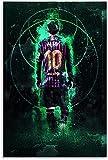 Adultos Puzzle 300 Piezas Niños Rompecabezas Messi, 300 Piece 15.7x11inch(40x28cm) Sin Marco