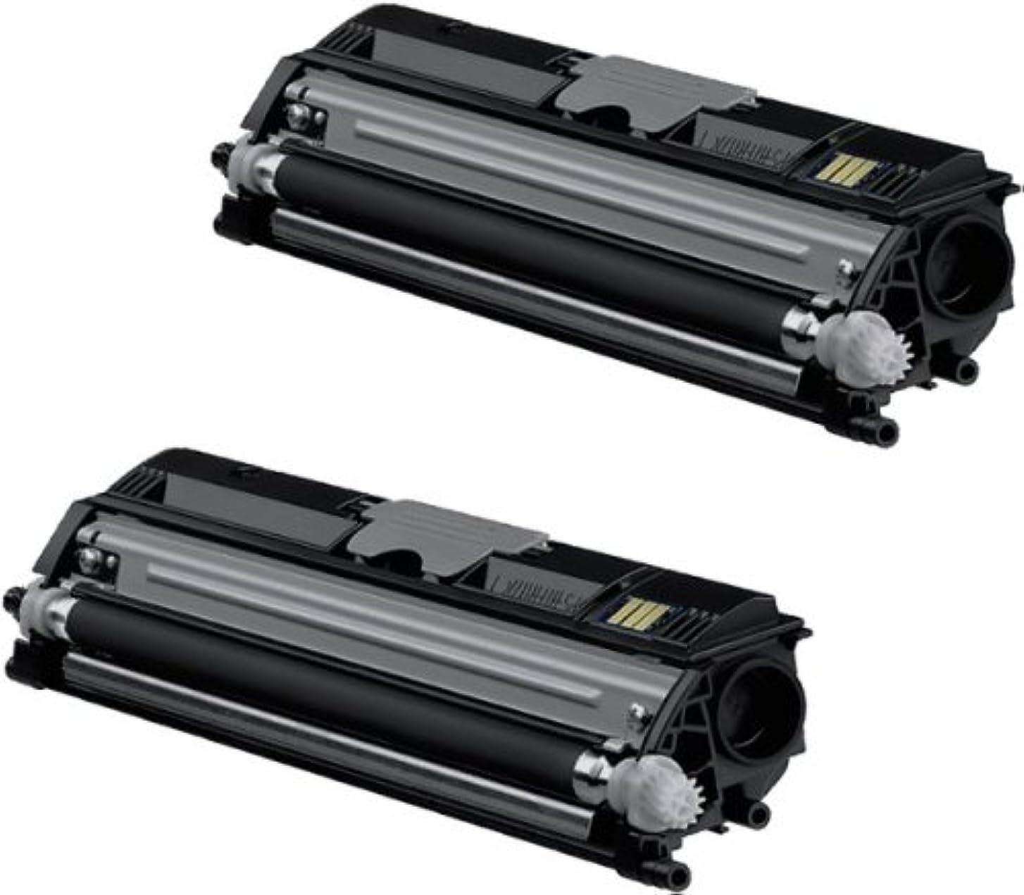 マウンドカリングスローコニカミノルタ magicolor 1600シリーズ ブラック(2本入) 大容量トナーカートリッジ リサイクルトナー KONICA-MINOLTA カラーレーザープリンター複合機用
