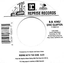 """Riding with the King=b/w= Key to the Highway=7""""45 Rpm Record"""
