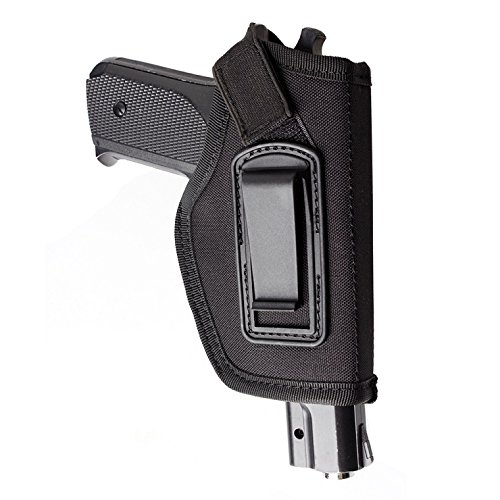 ENJOY OUTDOOR IWB Gun Holster Concealed Carry Inside The Waistband | Fits All Firearms S&W M&P Shield 9/40 1911 Taurus PT111 G2 Sig Sauer Glock 19 17 27 43 (Right-Handed)