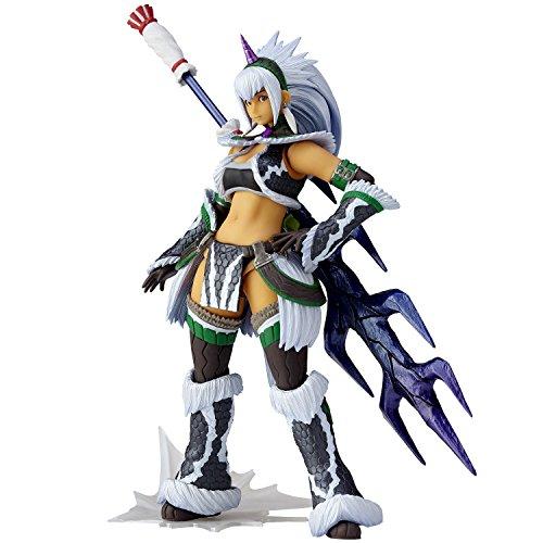Monster Hunter X Vulcanlog Monhan Revo Action Figure Hunter Swordswoman Kirin U