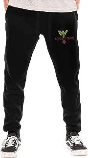 Schrute Farms Men's Fashion Jogger Closed Bottom Sweatpant