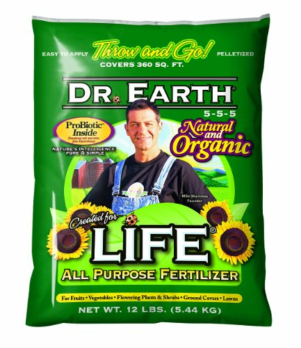 Dr. Earth 100 Life All Purpose Fertilizer, 12 lbs