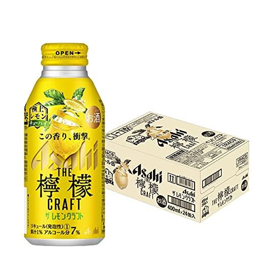 アサヒ ザ レモンクラフト 極上レモン 400ml 24本1ケース