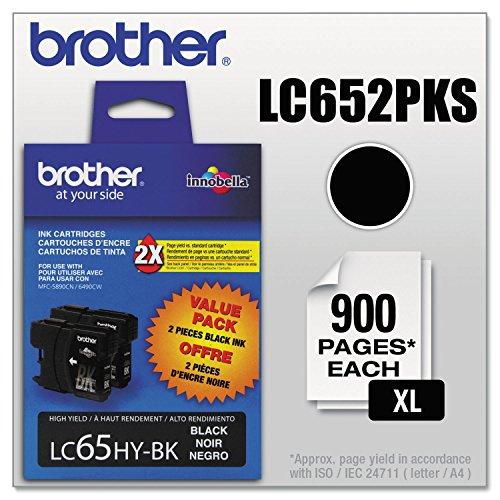 BRTLC652PKS - Brother LC652PKS LC-65 Innobella High-Yield Ink