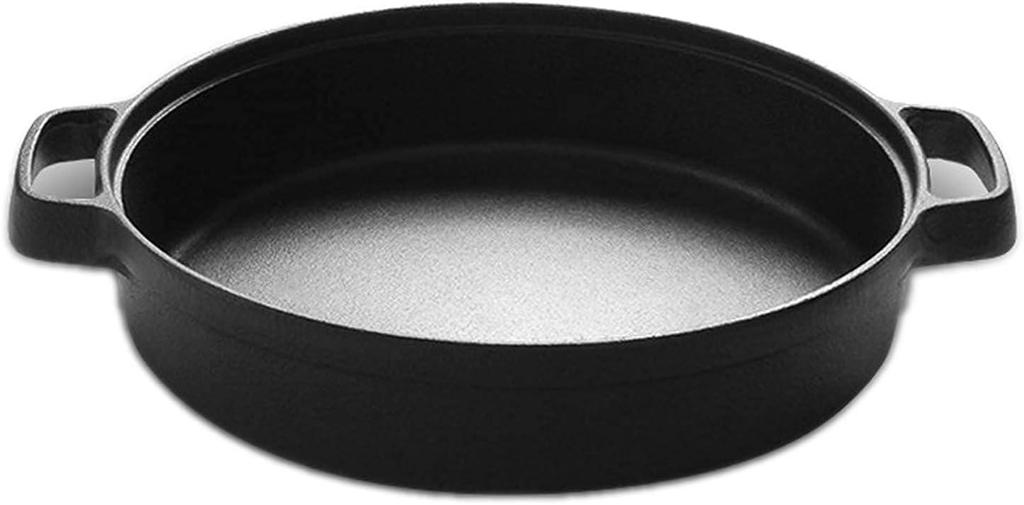 DCHENZI Non-Stick Wok Max Latest item 49% OFF Cast Iron Without Coating No Binaural