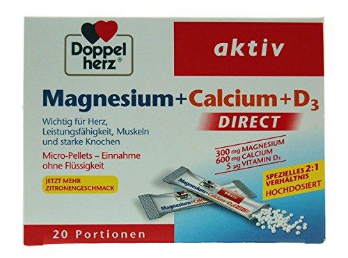 Doppelherz Abwehr aktiv Direct Zink, Histidin, Selen, 1er Pack (20 Portionen)