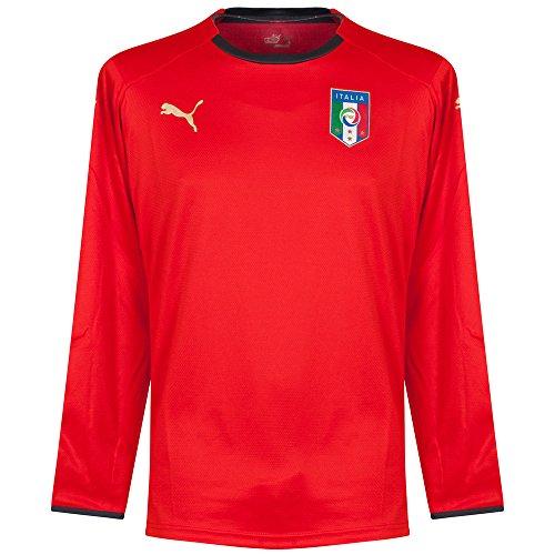 Puma 733865 - Camiseta para caballero, diseño de portero de la selección italiana.