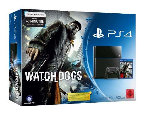 PlayStation 4 - Konsole inkl. Watch Dogs