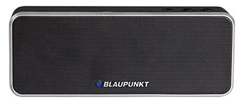 BLAUPUNKT BT 6 BK Bluetooth Lautsprecher mit Mikrofon, Freisprecheinrichtung, eingebauter Akku für MP3 schwarz