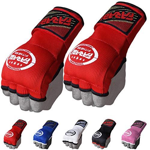 FARABI Kids Hybrid Boxing Inner Gloves Punching Boxing Gloves (Red)