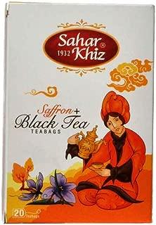Saharkhiz Saffron + Black Tea. 20 Teabags