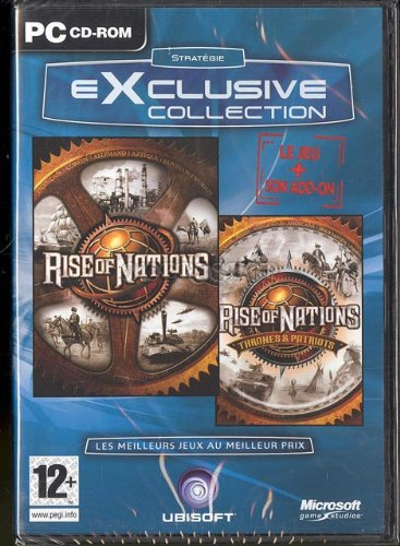 Rise of the nations et son add on - PC - FR [Importación Inglesa]