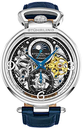 Stührling Original Men's Skeleton Watch
