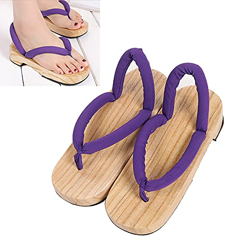 Sabots Japonais Pantoufles Pour Femmes, pour Demon Slayer Kamado Nezuko Kanroji Mitsuri Kochou Shinobu Tsuyuri Kanao Cosplay Chaussures, Accessoires De DéGuisement