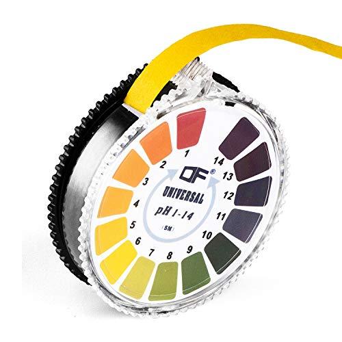 Kadactive Indikatorpapier Teststreifen für schnelle pH-Wert-Messungen (pH 0-14)