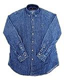 ポロ ラルフローレン 548537 548536 ワンポイントポニー デニムシャツ シャンブレーシャツ 長袖 L DENIM 並行輸入品
