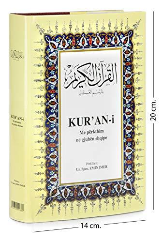 KUR`AN-i, albanisch-arabischer Quràn, gebunden im A5-format