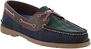 Sperry Men's Leeward 2-Eye Cross Lace Leather Boat Shoe