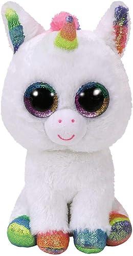Ty - TY36852 - Beanie Boo's - Peluche Pixy la Licorne 15 cm