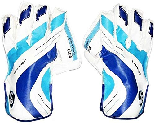 Sg Club Wicket Keeping Gloves with Cloth Lining Inside Boys
