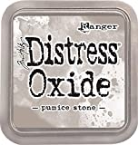 Ranger Tim Holtz Distress Oxide Pumice Stone-a 2x2 Raised Pad, with Water-Reactive Dye Ink Tinta, Naranja, 7,6 x 7,6 cm