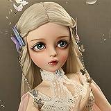 DXFK.AM Move BJD Doll 18 Articulaciones Esféricas 1/3 SD Muñeca 60cm Elfo Mariposa Moda Juguetes de Bricolaje para Chicas Perfecto Regalo
