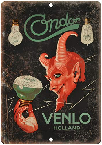 not Condor Venlo Holland Magic Show Metall Blechschild Wandschild Iron Painting Warnschild Wandschild Dekoration für Bar Café Hotel Büro Zuhause Garten