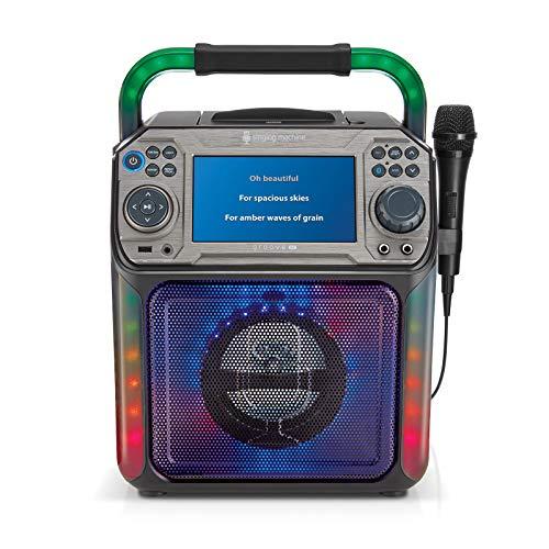 Singing Machine Karaoke System, Black, Groove XL (STVG782BK)