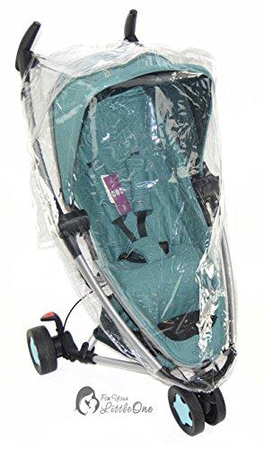 Regenschutz-Plane kompatibel mit Bebe 93TEC-Kinderwagen