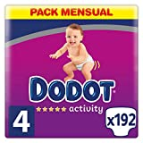 Dodot Activity - Pañales talla 4, 9-14 kg,...