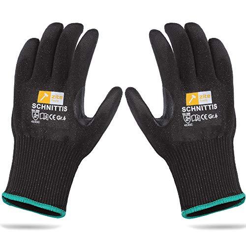 Zite Tools Schnittschutz-Handschuhe Kinder - Schutzhandschuhe zum Schnitzen und mehr - EN388 Level 5/5 - Diverse Größen (Größe 6)