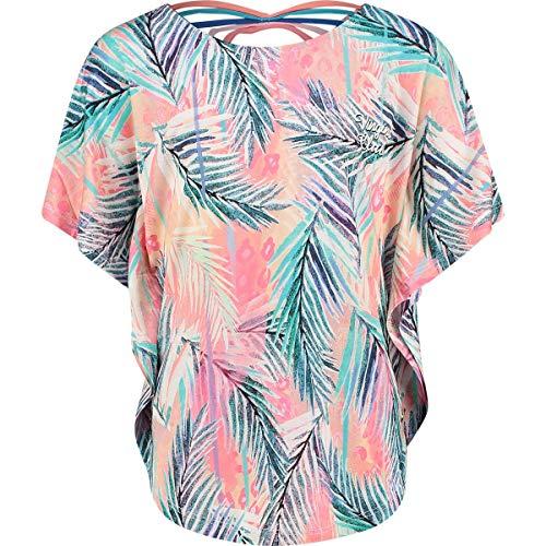 Vingino Mädchen Girls T-Shirt Ilene Soft neon Peach (164)