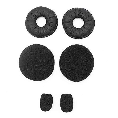 Blue Parrot Headset Replacement Ear Pad Cushions Refresher Kit by WirelessPro for Passport and Blue Parrot B250 Series