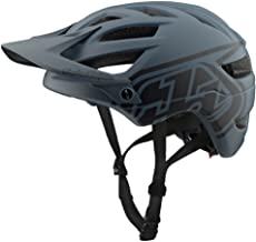 Troy Lee Designs Adult | Trail | Enduro | Half Shell A1 Drone Mountain Biking Helmet (Medium/Large, Gray/Black)