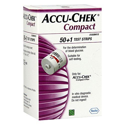 ACCU CHEK Compact Teststreifen 51 St