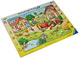Ravensburger Kinderpuzzle - 06582 Mein kleiner Bauernhof - Rahmenpuzzle für Kinder ab 4 Jahren, mit 24 Teilen