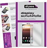 dipos I 2X Schutzfolie klar kompatibel mit Alcatel A3 XL Folie Bildschirmschutzfolie